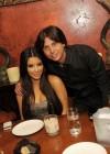 Kim Kardashian and Jonathan Cheban (Spin Crowd)