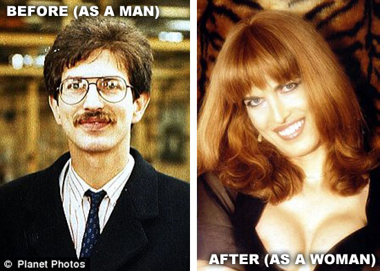 Sex change from man to woman pictures