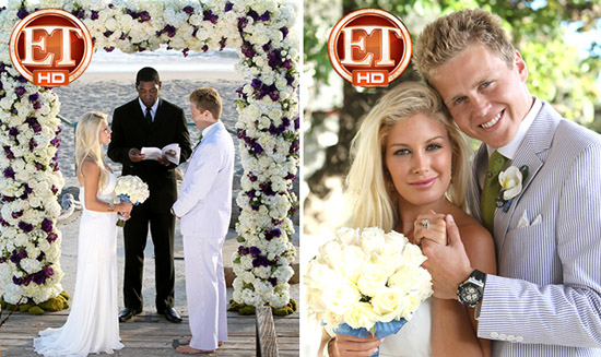 Heidi Montag And Spencer Renew Their Wedding Vows In Southern California Ceremony