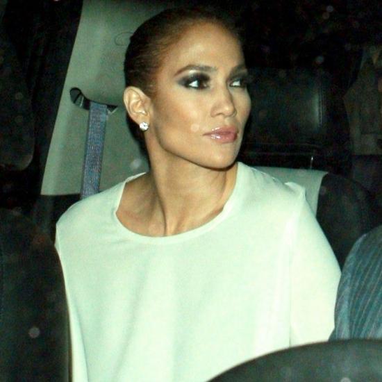 jennifer lopez husband name. A smiling Jennifer Lopez was