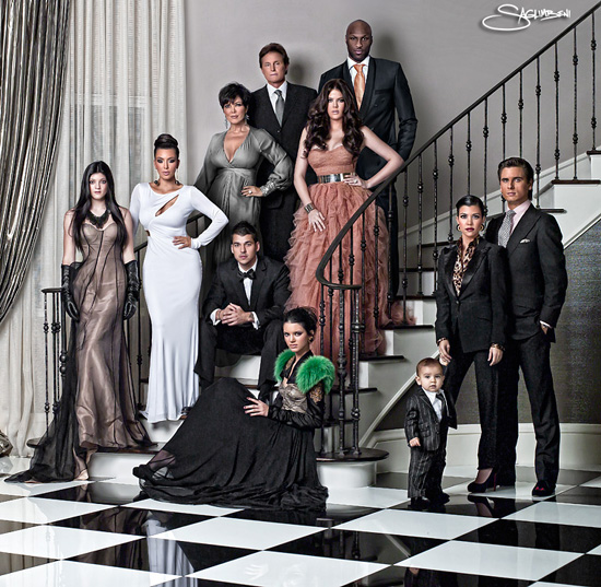 kardashian christmas card. Kardashian Christmas Card: