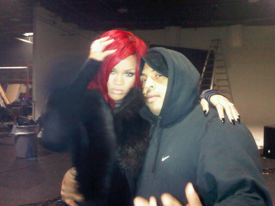 rihanna and kanye west all of the lights video. Rihanna and famous video