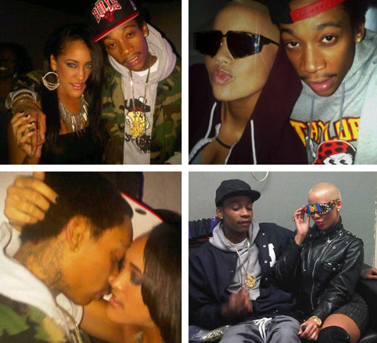 amber rose wiz khalifa married. Natalie Nunn and Amber Rose