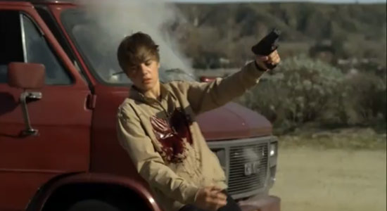 justin bieber on csi getting shot. Justin Bieber gets taken down