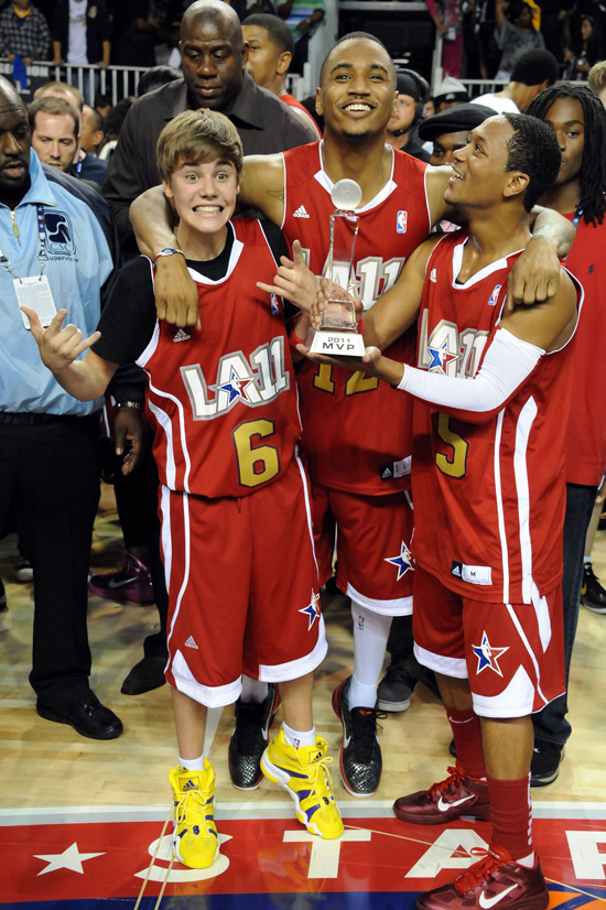 Romeo Miller And Justin Bieber Justin Bieber, ...
