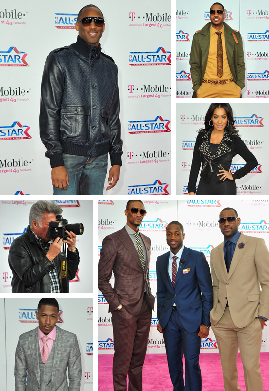 Big names like Kobe Bryant, Ciara, Ne-Yo, Dwyane Wade, LeBron James, Chris