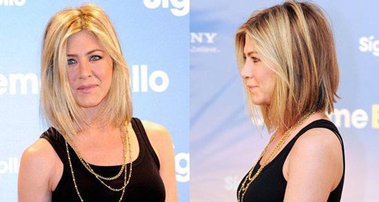 jennifer aniston new haircut pics. Actress Jennifer Aniston