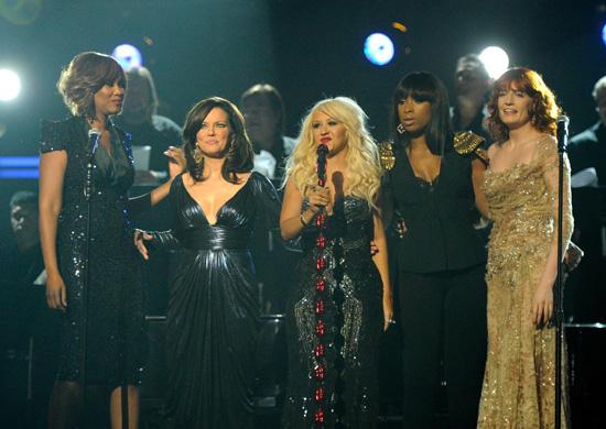 Christina Aguilera 2011 Grammys. up the 2011 Grammy Awards