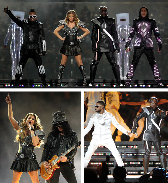 black eyed peas fergie pees on stage. The Black Eyed Peas pulled