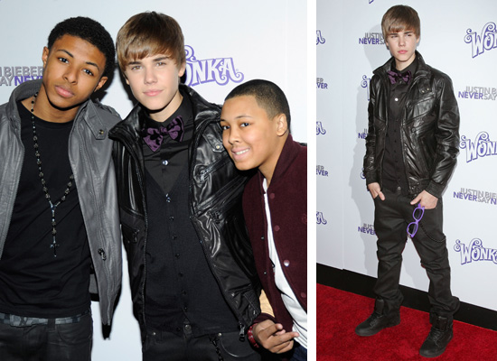 justin bieber little brother christian. Justin Bieber hung out with