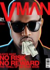 Kanye West V-Man Magazine Cover