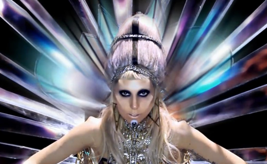 lady gaga born this way video. Lady Gaga is orn again