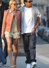 Beyonce & Jay-Z's Monday morning stroll in Paris – April 25th 2011
