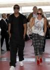 Beyonce & Jay-Z leaving Paris – April 26th 2011