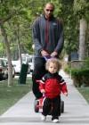 Hank Baskett & Hank Jr.