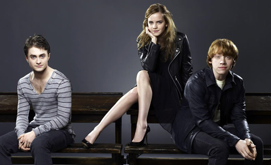 harry potter cast photo shoot. all you Harry Potter fans