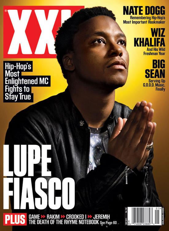Lupe Fiasco Covers May 2011 XXL Magazine