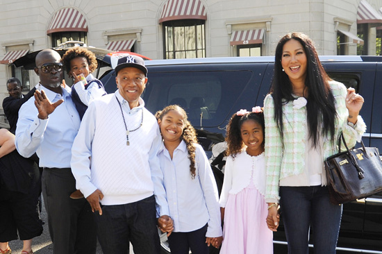 russell simmons kids. ex husband Russell Simmons