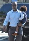 Kimora Lee, Djimon Hounsou, Russell Simmons and their kids
