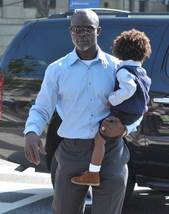 Djimon Hounsou: 'My son told me, I want to be light ...