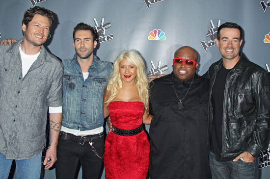 "the voice nbc cast. New singing talent show ""The"