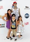 Travis Barker and his kids