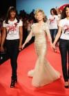 Grace Hightower, Naomi Campbell, actress Jane Fonda and Afef Jnifen