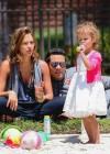 Jessica Alba, Cash Warren and their Daughter Honor