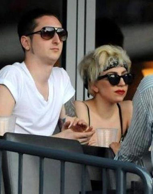 Who is lady gaga dating luc carl