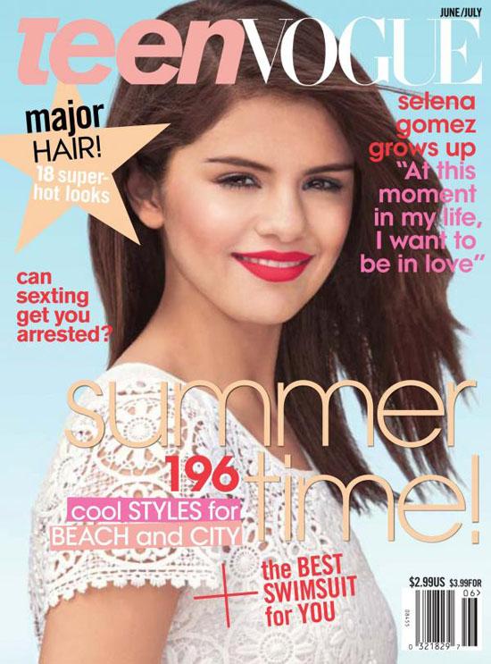 Selena Gomez Off The Chain Cover. selena gomez vogue.