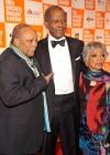 Quincy Jones, Sidney Poitier and Ruby Dee