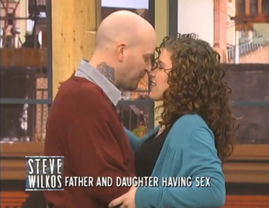 father and daughter relationship on steve wilkos