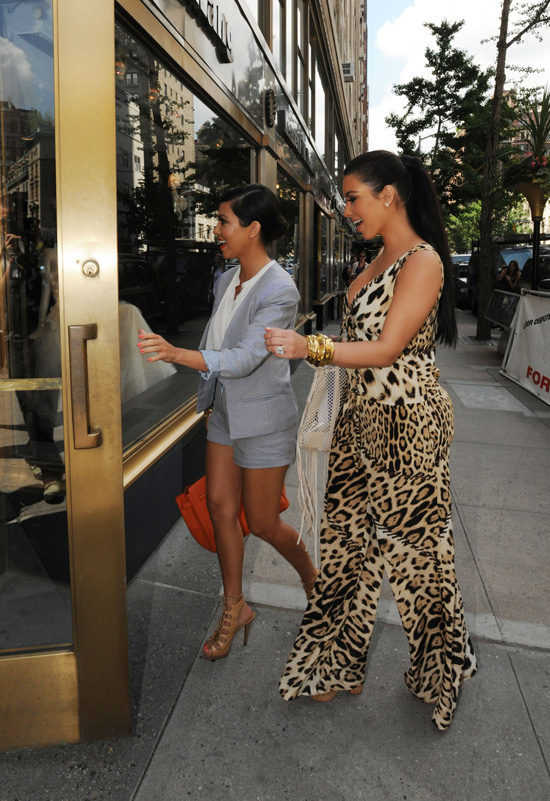 Kim Kardashian Goes Wedding Dress Shopping With Sister