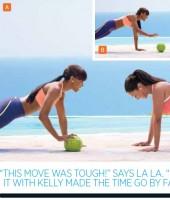 Kelly Rowland & La La Vazquez for Shape Magazine
