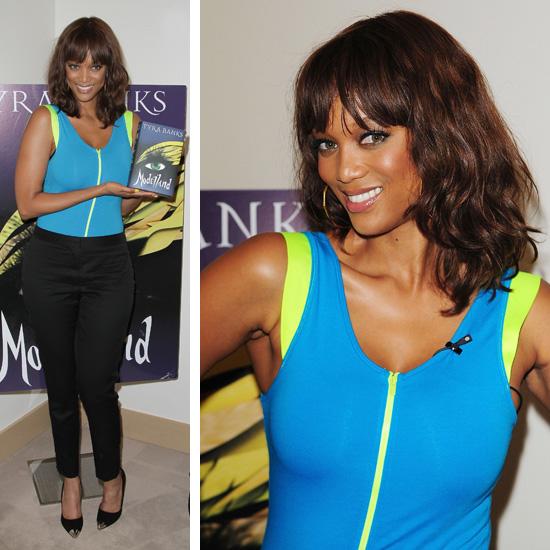 Tyra Banks Modelland: Celebs Seen On The Scene: Chris Brown, Big Sean, Taylor