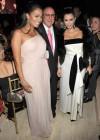 LaLa Anthony, Clive Davis and Kim Kardashian