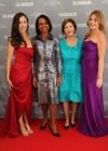 Barbara Bush, Condoleezza Rice, former first lady of the United States Laura Bush, and Jenna Bush