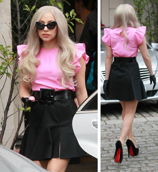 Lady Gaga Steps Out Dressed Like A Photos