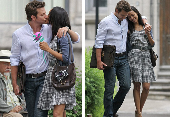 "Zoe Saldana and Bradley Cooper are ""Totally Dating"""