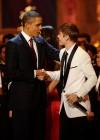 President Barack Obama & Justin Bieber