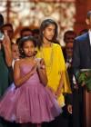 First Lady Michelle, Sasha, Malia and President Barack Obama