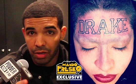 drake tattoo with Girl