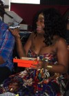 Fantasia at her baby shower