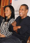Jay-Z with Pedro Hernandez and Bianca Darby-Bell