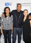 Jay-Z with Pedro Hernandez, Bianca Darby-Bell and President & CEO of United Wayof New York City Gordon J Campbell