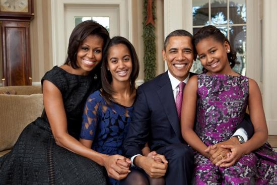 Brand New Obama Family Portrait Revealed PHOTO