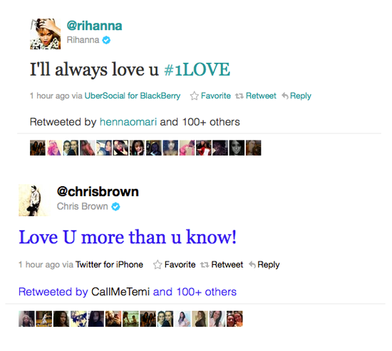 Chris Brown And Rihanna Have Been Subliminally Tweeting Each Other