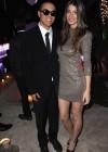 Evan Ross and girlfriend Cora Skinner