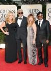 Lori McCreary, Morgan Freeman, Larcenia Letice and Alfonso Freeman