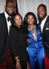 LeBron James, Savannah Brinson, Gabrielle Union and Dwyane Wade